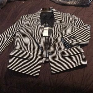 BCBG shrunken blazer. Size small new with tags